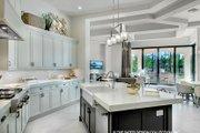 Mediterranean Style House Plan - 4 Beds 4.5 Baths 4030 Sq/Ft Plan #930-473 Interior - Kitchen