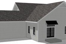 Architectural House Design - Craftsman Exterior - Rear Elevation Plan #44-235