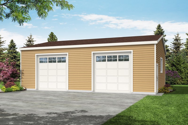 House Plan Design - Traditional Exterior - Front Elevation Plan #124-1217