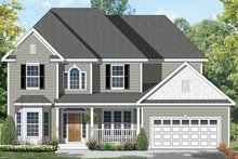 House Plan Design - Colonial Exterior - Front Elevation Plan #1053-64