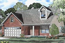 Home Plan - Country Exterior - Front Elevation Plan #17-3223