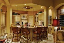 Mediterranean Interior - Kitchen Plan #930-329