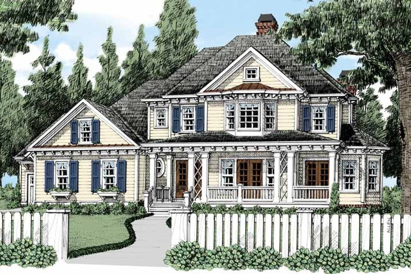 Home Plan - Classical Exterior - Front Elevation Plan #927-483