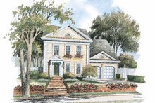 House Plan Design - Classical Exterior - Front Elevation Plan #429-242