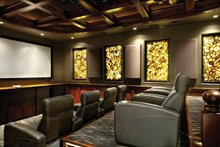 Architectural House Design - Media Room