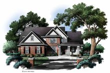 House Plan Design - Colonial Exterior - Front Elevation Plan #952-211