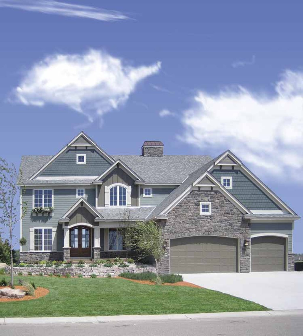 Traditional style house plan 4 beds 3 5 baths 3968 sq ft for Www homeplans com