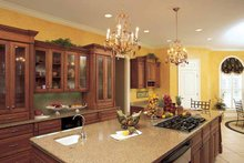 Classical Interior - Kitchen Plan #37-275
