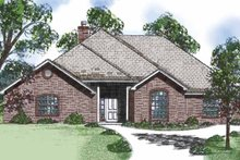 House Plan Design - Country Exterior - Front Elevation Plan #52-255