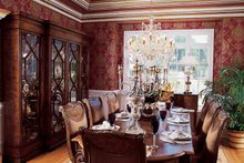 Architectural House Design - Traditional Interior - Dining Room Plan #54-182