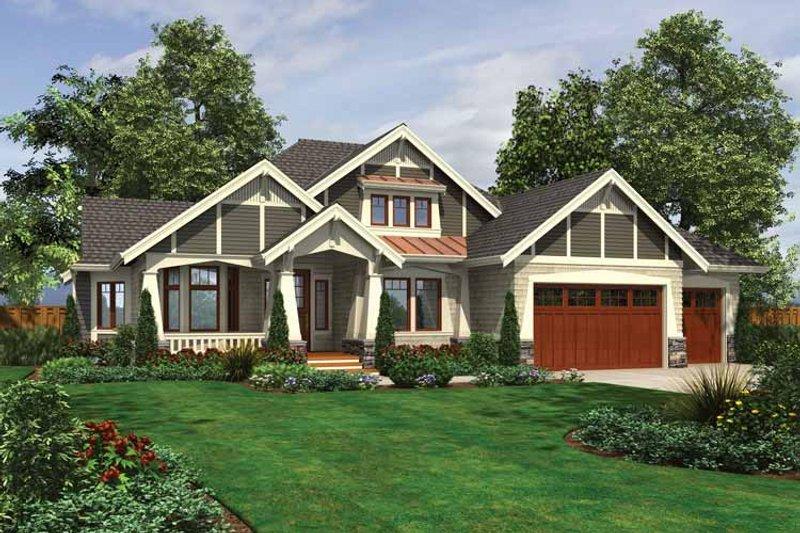 House Design - Ranch Exterior - Front Elevation Plan #132-534