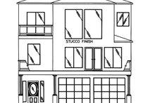 Dream House Plan - Mediterranean Exterior - Front Elevation Plan #117-884