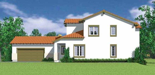 Architectural House Design - Mediterranean Floor Plan - Other Floor Plan #72-1119