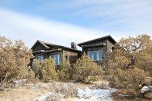 Architectural House Design - Ranch Exterior - Rear Elevation Plan #895-117