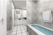 Farmhouse Style House Plan - 4 Beds 2 Baths 1608 Sq/Ft Plan #45-597 Interior - Master Bathroom