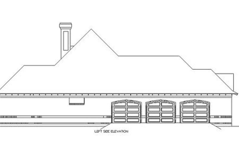European Exterior - Other Elevation Plan #45-357 - Houseplans.com