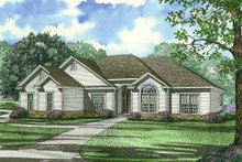 Home Plan - Ranch Exterior - Front Elevation Plan #17-3149