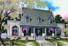 Home Plan Design - Southern Exterior - Front Elevation Plan #45-198