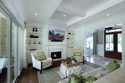 Farmhouse Style House Plan - 3 Beds 3.5 Baths 3177 Sq/Ft Plan #928-309 Interior - Family Room