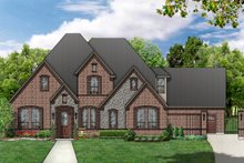 Home Plan - European Exterior - Front Elevation Plan #84-463