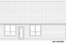 Craftsman Exterior - Rear Elevation Plan #84-526