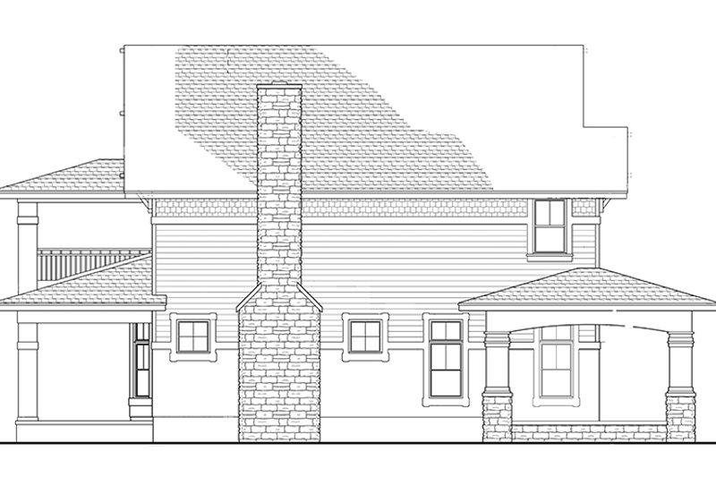 Craftsman Exterior - Other Elevation Plan #1058-79 - Houseplans.com