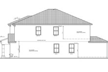 Architectural House Design - Mediterranean Exterior - Other Elevation Plan #1058-66