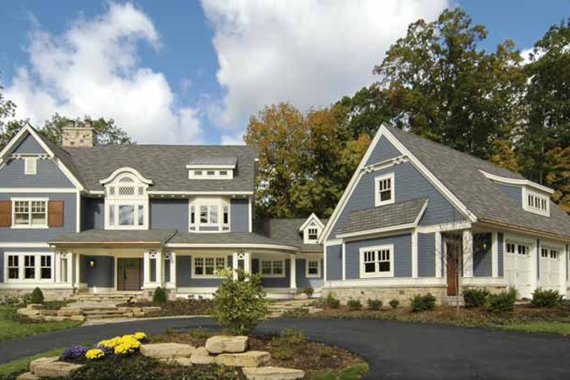 Craftsman Exterior - Front Elevation Plan #928-30