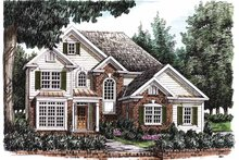 Home Plan - Traditional Exterior - Front Elevation Plan #927-652