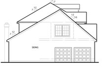 Home Plan - Colonial Exterior - Other Elevation Plan #1053-48