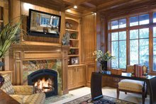 Architectural House Design - Traditional Interior - Master Bedroom Plan #48-877