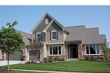 House Design - Traditional Exterior - Front Elevation Plan #51-1104