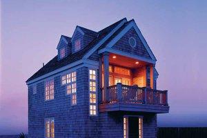 Craftsman Exterior - Front Elevation Plan #1035-1
