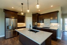 Dream House Plan - Ranch Interior - Kitchen Plan #70-1500