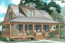 Architectural House Design - Craftsman Exterior - Front Elevation Plan #17-3154