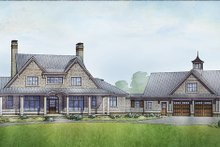 House Plan Design - Country Exterior - Front Elevation Plan #928-307