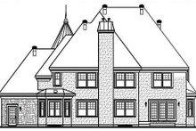 Dream House Plan - European Exterior - Rear Elevation Plan #23-576