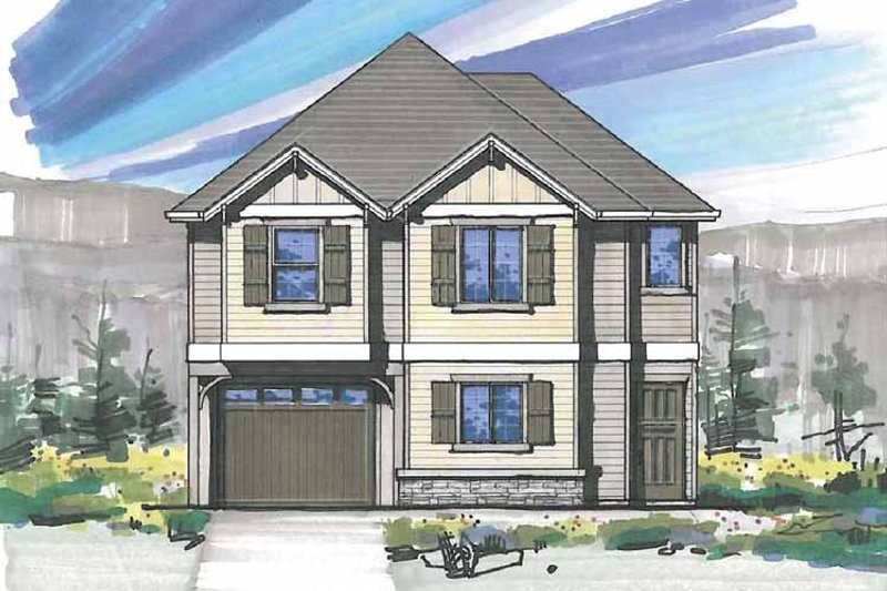 Traditional Exterior - Front Elevation Plan #509-168