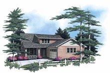 Home Plan - Craftsman Exterior - Front Elevation Plan #48-764