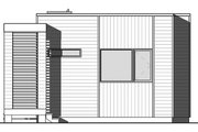 Contemporary Style House Plan - 2 Beds 1 Baths 631 Sq/Ft Plan #23-2602
