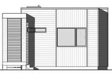 Contemporary Exterior - Front Elevation Plan #23-2602