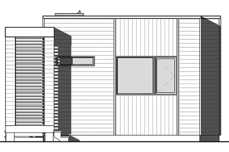 Contemporary Exterior - Front Elevation Plan #23-2602 - Houseplans.com