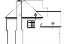 House Plan Design - Colonial Exterior - Other Elevation Plan #453-341