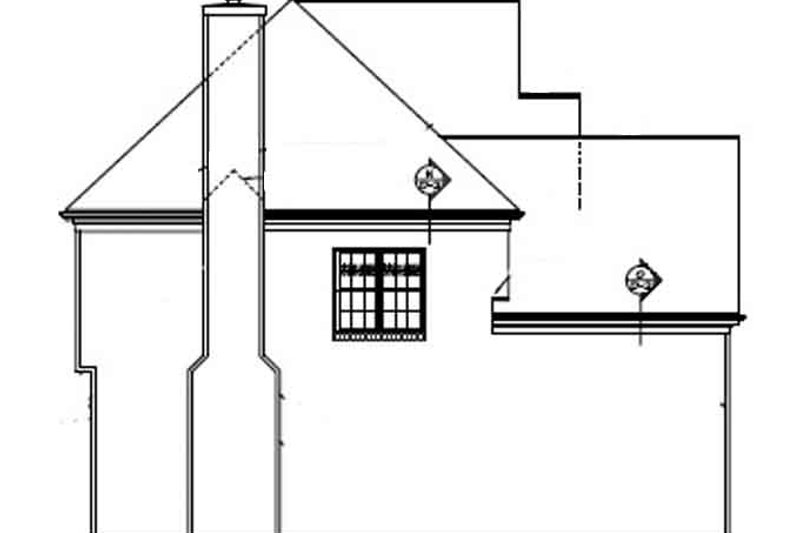 Colonial Exterior - Other Elevation Plan #453-341 - Houseplans.com