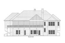 Architectural House Design - Craftsman Exterior - Rear Elevation Plan #437-95