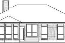 Traditional Exterior - Rear Elevation Plan #84-191