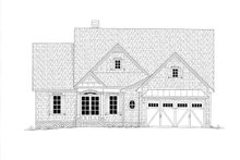 Cottage Exterior - Front Elevation Plan #437-107