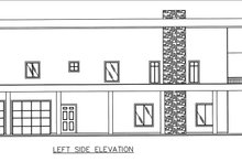 Contemporary Exterior - Other Elevation Plan #117-885