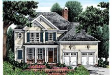 House Plan Design - Colonial Exterior - Front Elevation Plan #927-872