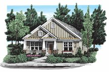 House Plan Design - Craftsman Exterior - Front Elevation Plan #927-297